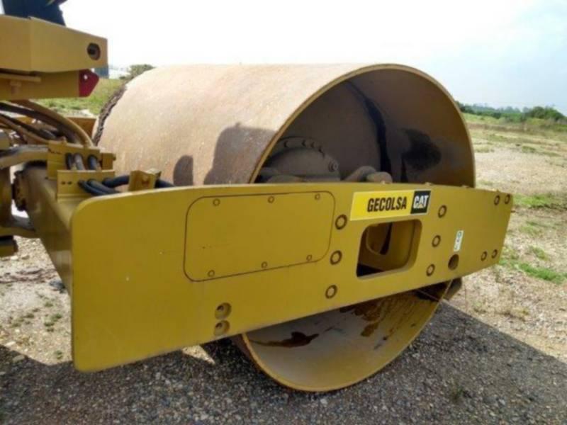 CATERPILLAR 振動シングル・ドラム・スムーズ CS-533E equipment  photo 11