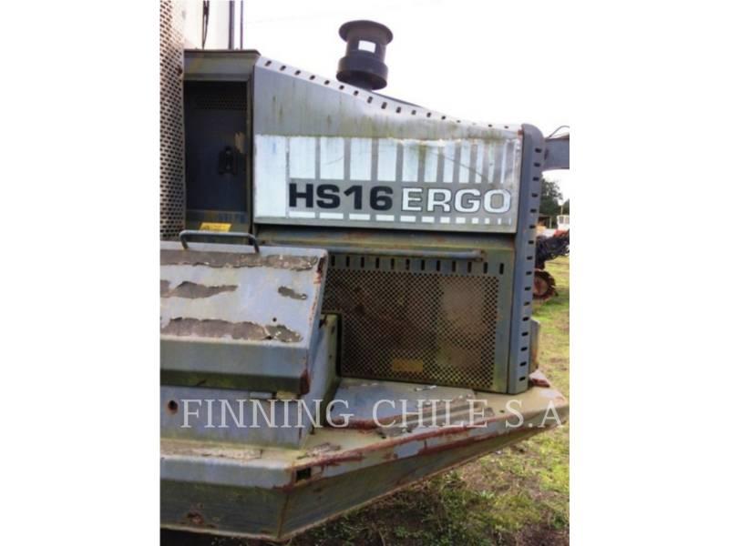 PONSSE FORESTRY - FELLER BUNCHERS - WHEEL ERGO HS16 equipment  photo 4
