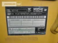 CATERPILLAR CARGADORES DE RUEDAS 907H equipment  photo 10