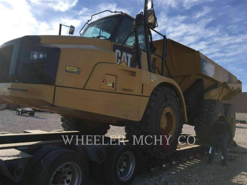 CATERPILLAR CAMIONES ARTICULADOS 740B TG equipment  photo 8
