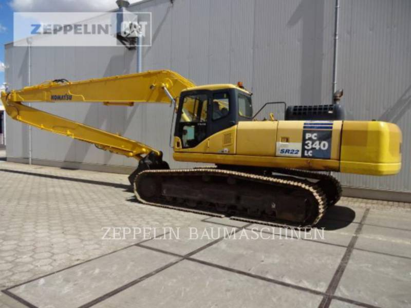 KOMATSU LTD. TRACK EXCAVATORS PC340NLC equipment  photo 2