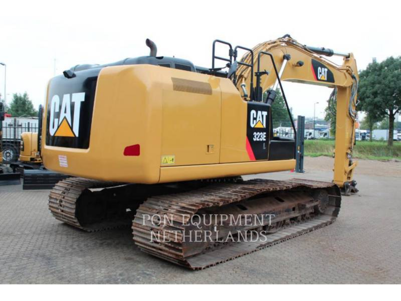 CATERPILLAR TRACK EXCAVATORS 323 EL equipment  photo 4