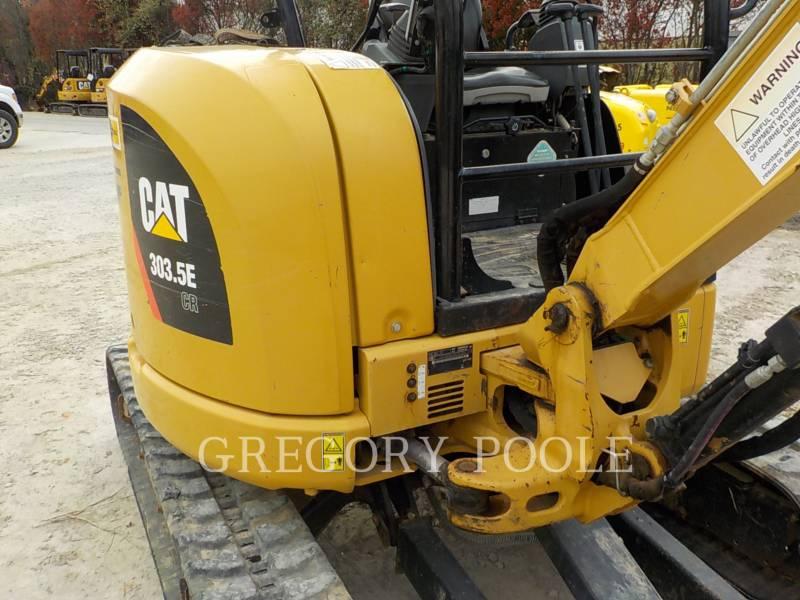 CATERPILLAR トラック油圧ショベル 303.5E equipment  photo 6