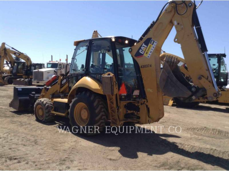 CATERPILLAR BACKHOE LOADERS 430F IT4WE equipment  photo 4