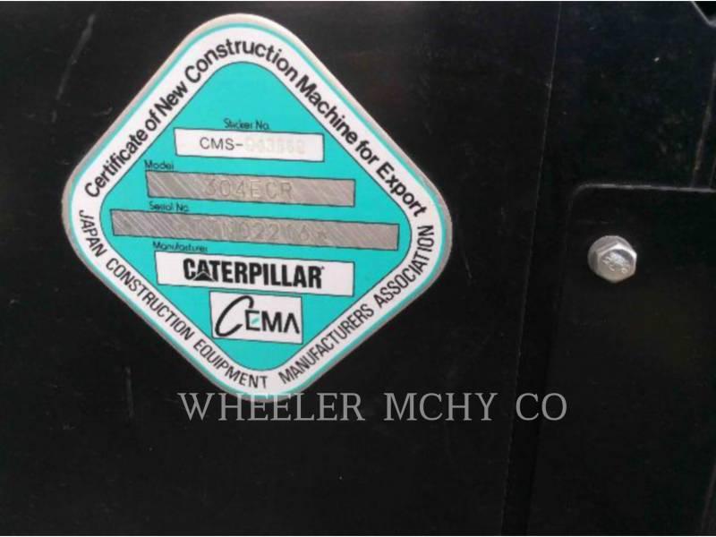 CATERPILLAR TRACK EXCAVATORS 304E C1 equipment  photo 10