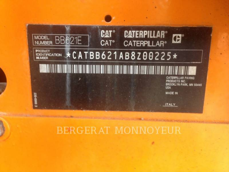 CATERPILLAR SCHWARZDECKENFERTIGER BB621E equipment  photo 7