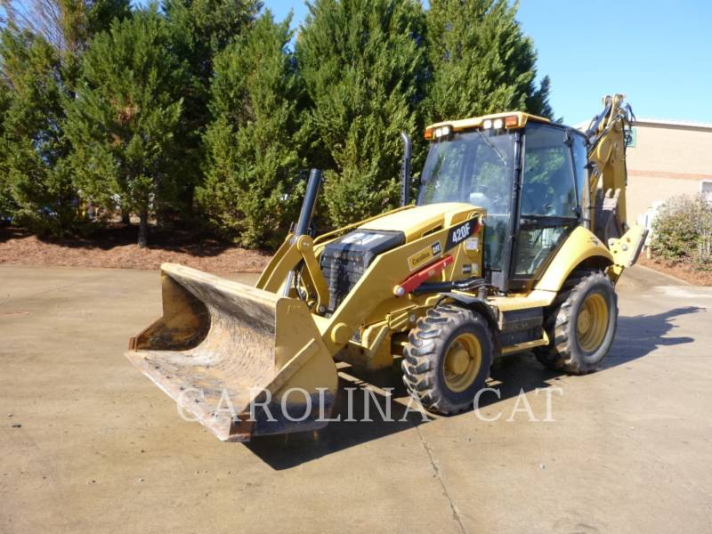 CATERPILLAR BAGGERLADER 420F CB equipment  photo 2