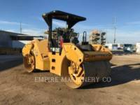 CATERPILLAR TANDEMOWY WALEC WIBRACYJNY DO ASFALTU (STAL-STAL) CB54 equipment  photo 2