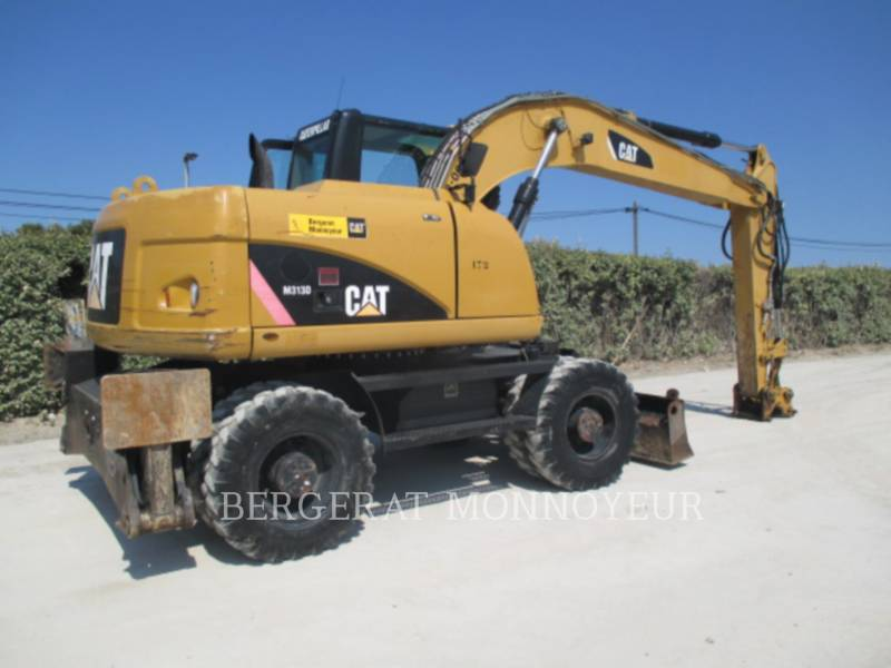 CATERPILLAR ホイール油圧ショベル M313D equipment  photo 2