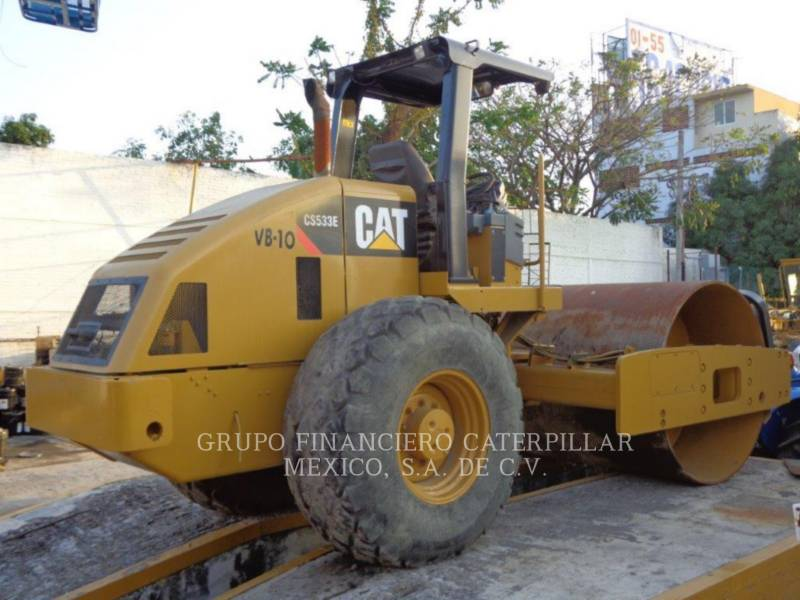 CATERPILLAR ROLO COMPACTADOR DE ASFALTO COMBINADO CS-533E equipment  photo 2