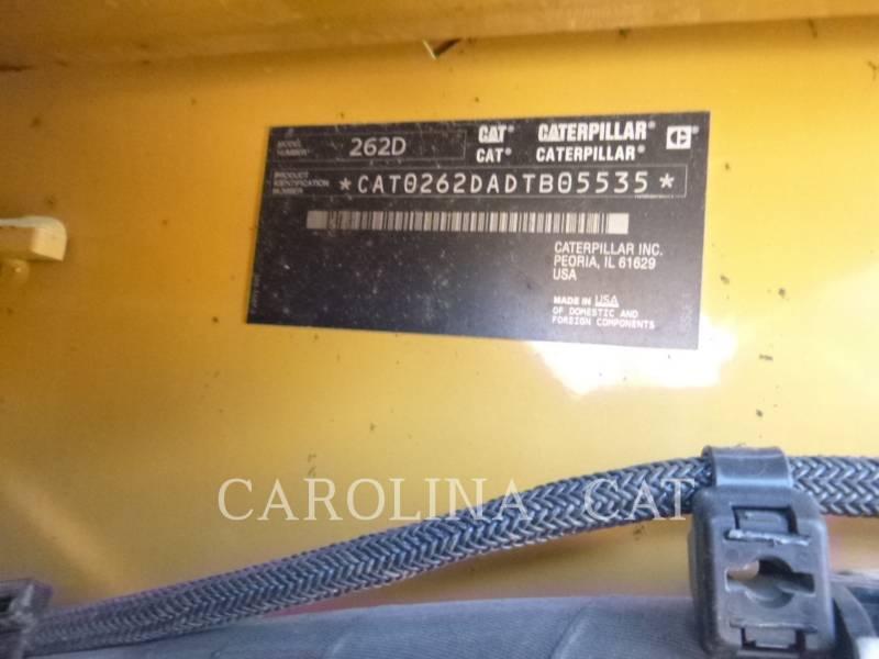 CATERPILLAR MINICARGADORAS 262D CB equipment  photo 8