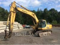 Equipment photo KOMATSU PC300 PELLES SUR CHAINES 1