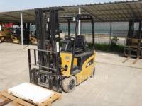 Equipment photo MITSUBISHI CATERPILLAR FORKLIFT EP16N ELEVATOARE CU FURCĂ 1