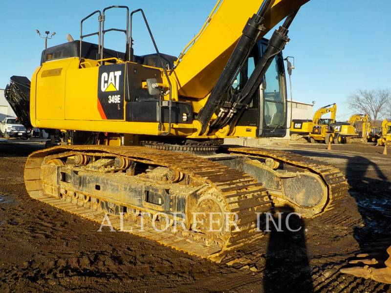 CATERPILLAR KETTEN-HYDRAULIKBAGGER 349ELVG equipment  photo 5