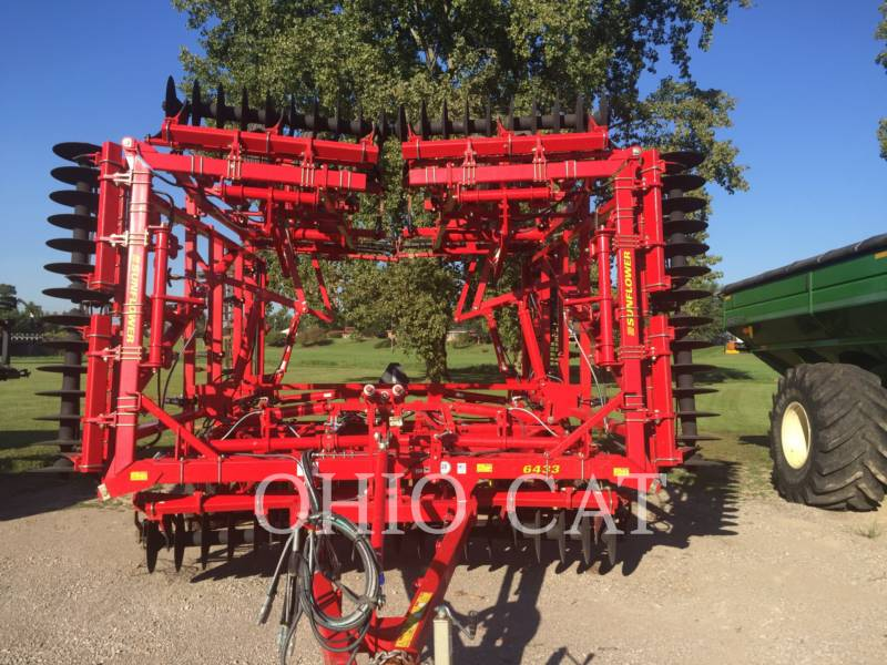 SUNFLOWER MFG. COMPANY APPARECCHIATURE PER COLTIVAZIONE TERRENI SF6433-43 equipment  photo 10