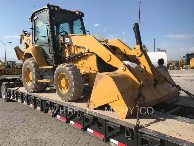 CATERPILLAR RETROESCAVADEIRAS 420F2 E equipment  photo 1