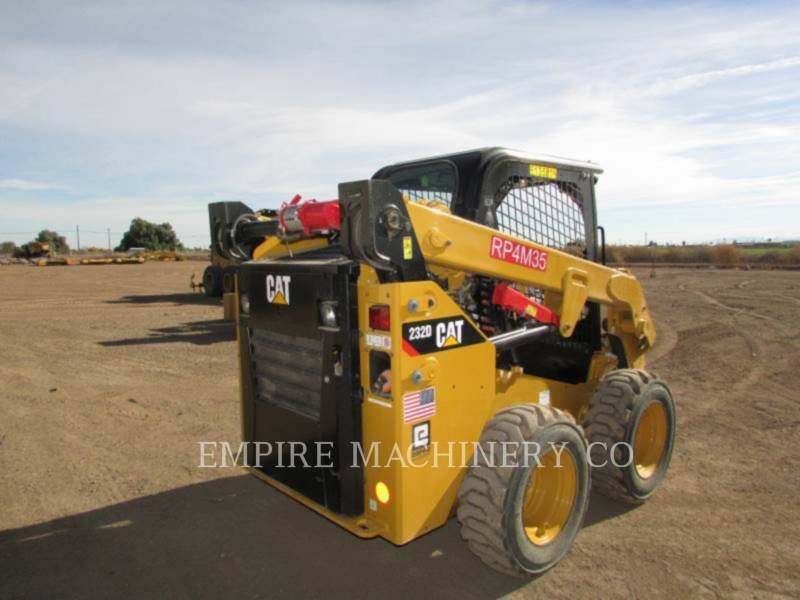 CATERPILLAR SKID STEER LOADERS 232D equipment  photo 3