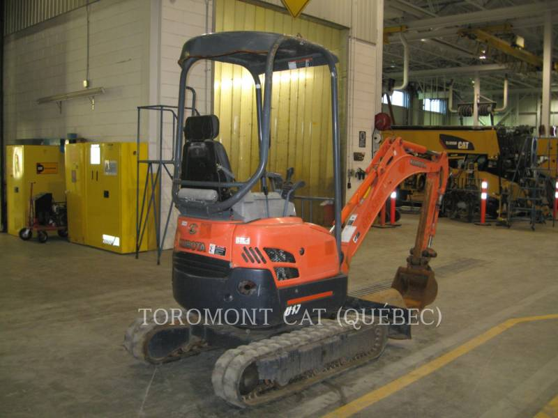 KUBOTA CORPORATION EXCAVADORAS DE CADENAS U17 equipment  photo 1