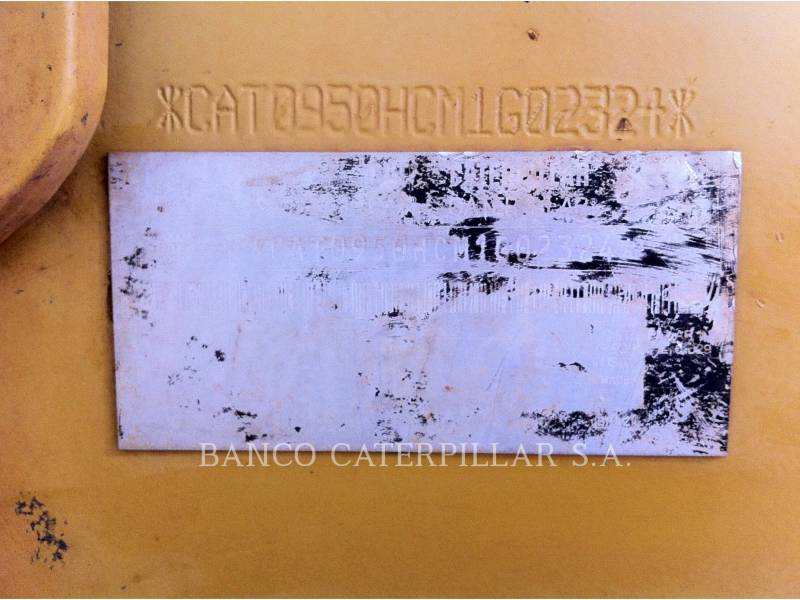 CATERPILLAR CARGADORES DE RUEDAS 950H equipment  photo 21