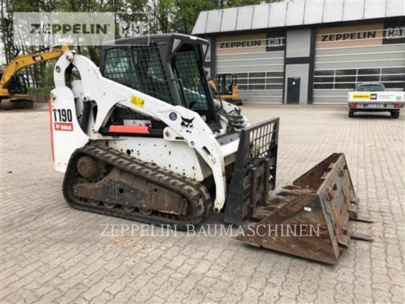 BOBCAT MINICARGADORAS T190 equipment  photo 1