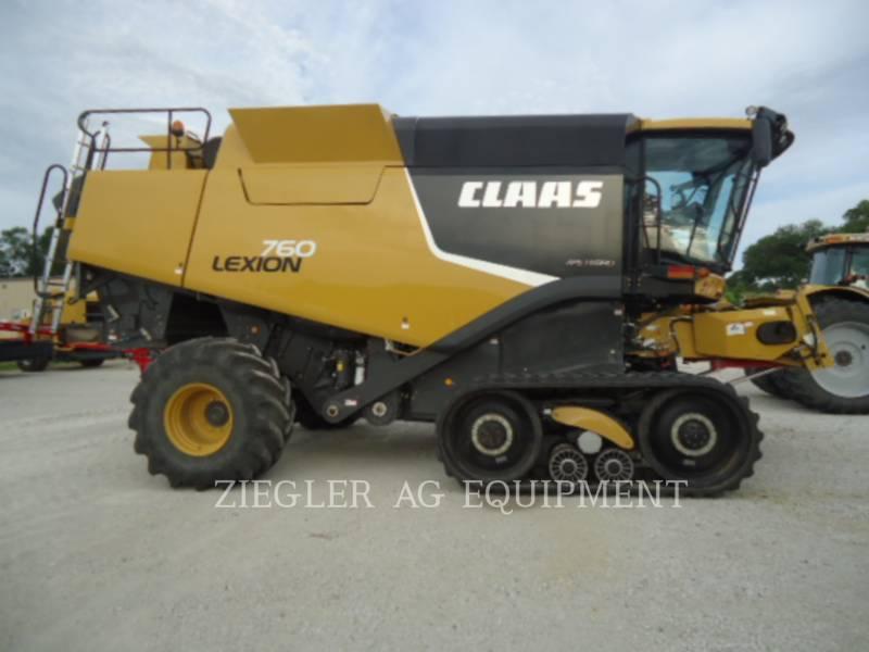 LEXION COMBINE COMBINES 760TT equipment  photo 8