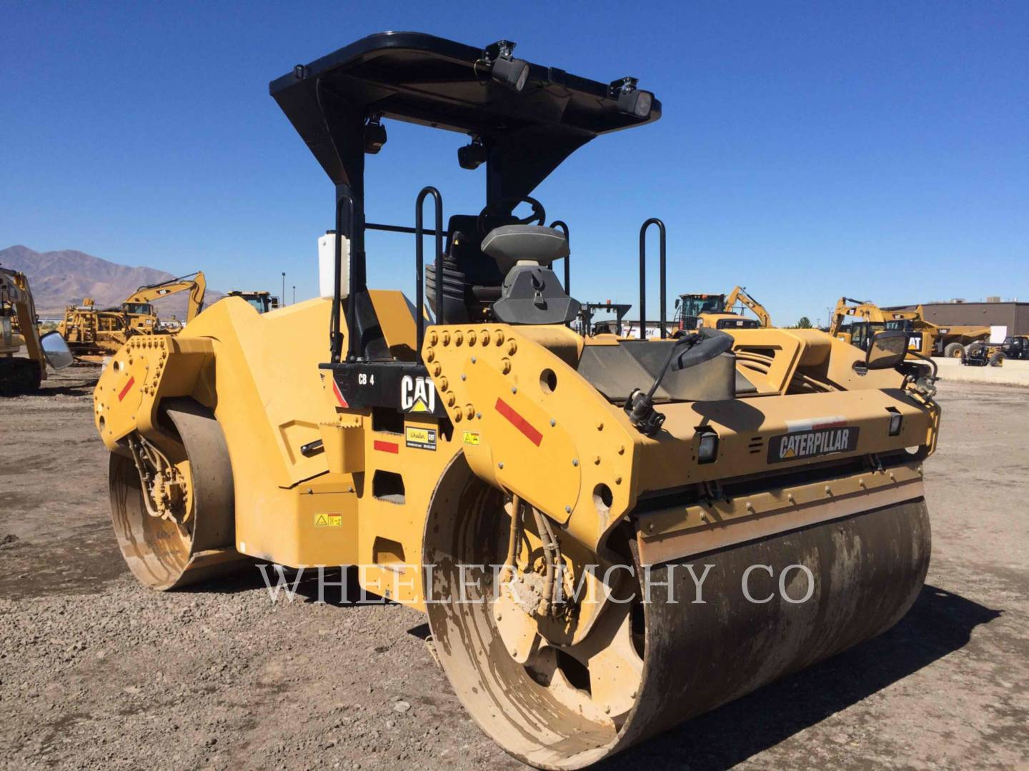 Detail photo of 2012 Caterpillar CB64 from Construction Equipment Guide