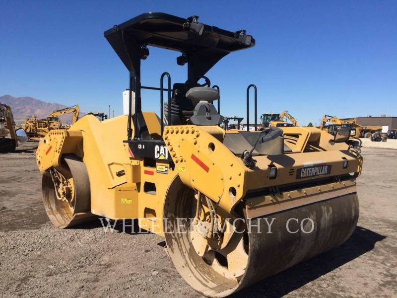 CATERPILLAR TAMBOR DOBLE VIBRATORIO ASFALTO CB64 equipment  photo 2