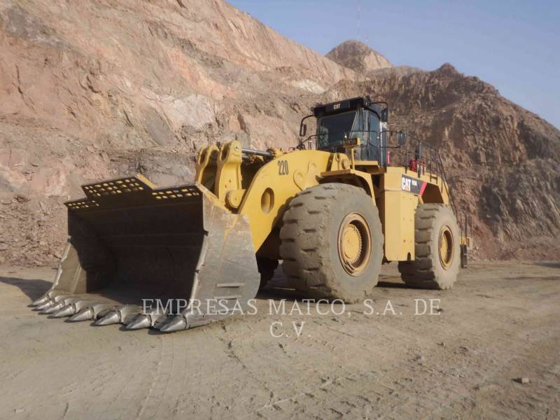 Caterpillar ÎNCĂRCĂTOR MINIER PE ROŢI 993K equipment  photo 2
