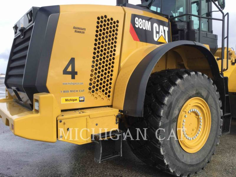 CATERPILLAR PALE GOMMATE/PALE GOMMATE MULTIUSO 980M equipment  photo 16