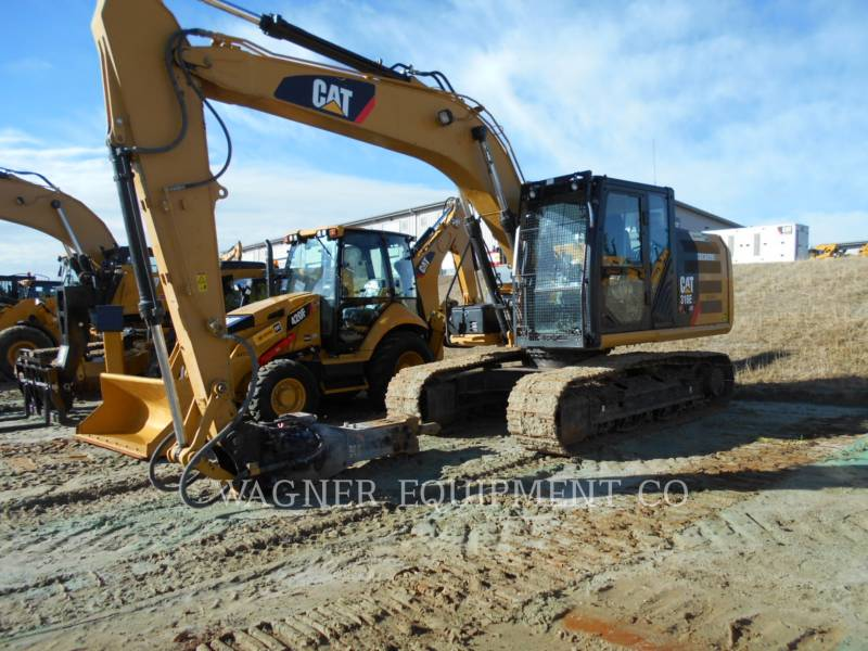 CATERPILLAR TRACK EXCAVATORS 316EL HMR equipment  photo 1