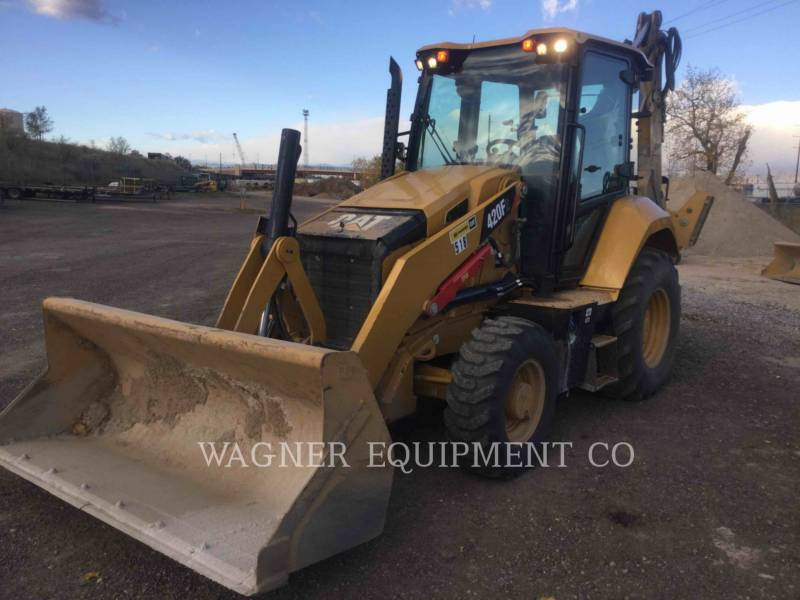 CATERPILLAR BAGGERLADER 420F2 4WDE equipment  photo 1