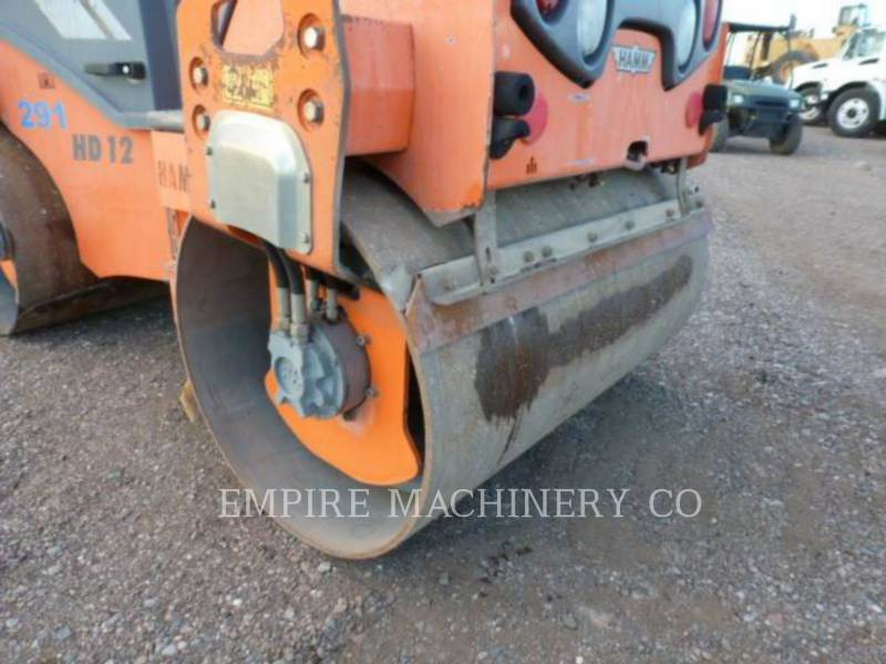 HAMM USA VIBRATORY DOUBLE DRUM ASPHALT HD12 equipment  photo 4