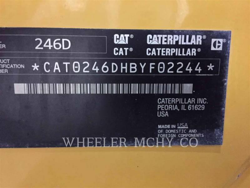 CATERPILLAR CHARGEURS COMPACTS RIGIDES 246D C3-H2 equipment  photo 6