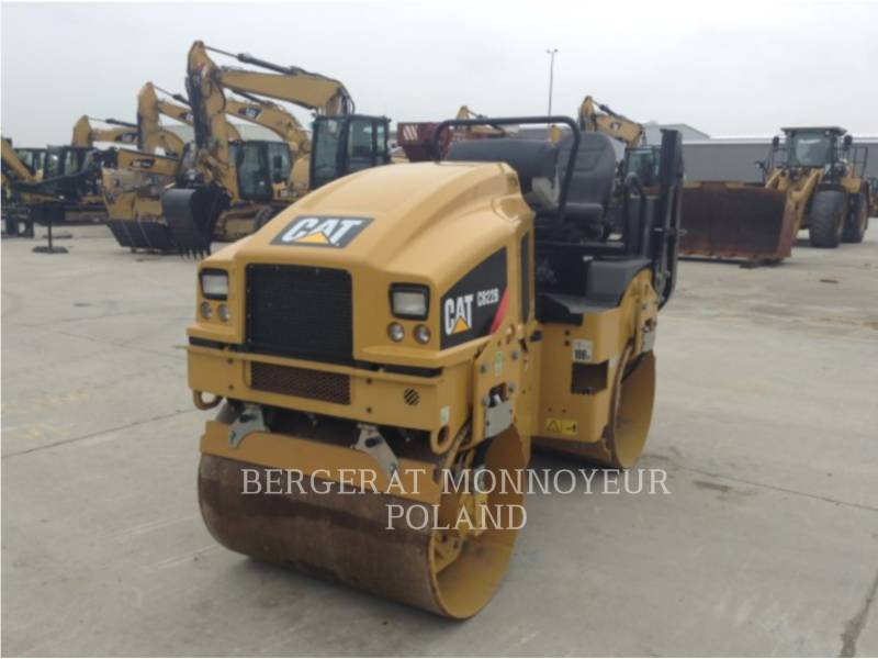 CATERPILLAR TAMBOR DOBLE VIBRATORIO ASFALTO CB22BLRC equipment  photo 5