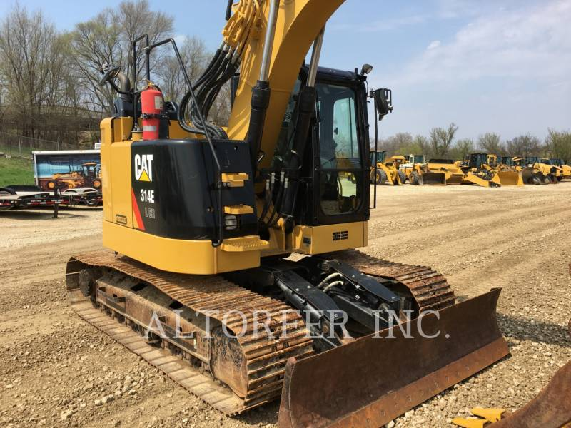 CATERPILLAR KETTEN-HYDRAULIKBAGGER 314ELCR equipment  photo 6