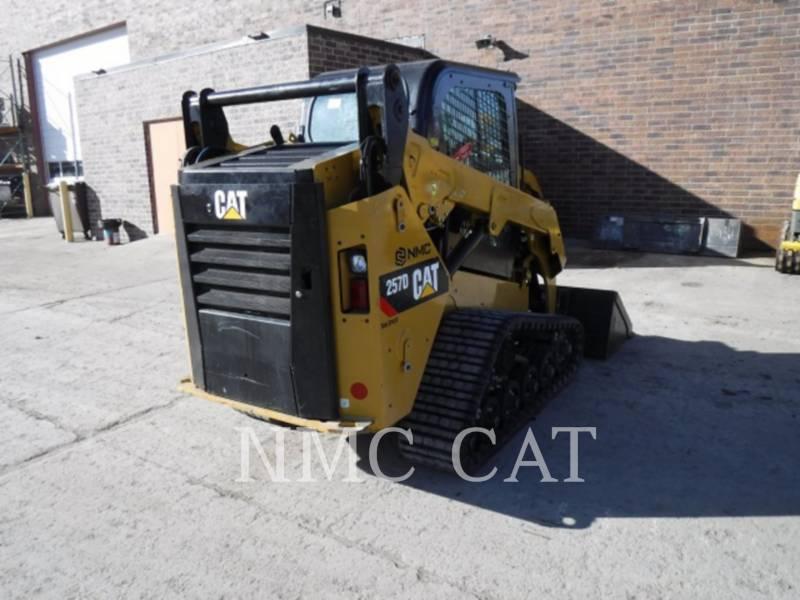 CATERPILLAR CARGADORES MULTITERRENO 257D equipment  photo 3