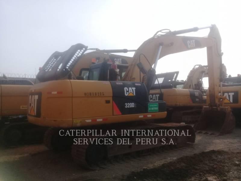 CATERPILLAR EXCAVADORAS DE CADENAS 320 D 2 REACH equipment  photo 1