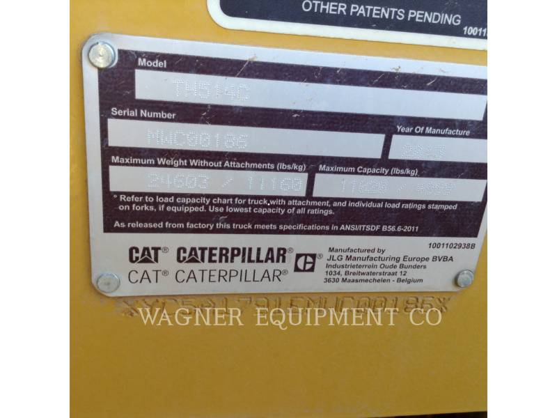 CATERPILLAR テレハンドラ TH514 equipment  photo 5