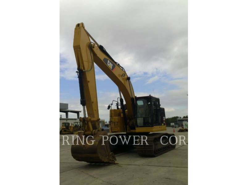 CATERPILLAR KETTEN-HYDRAULIKBAGGER 335FLTHUMB equipment  photo 1
