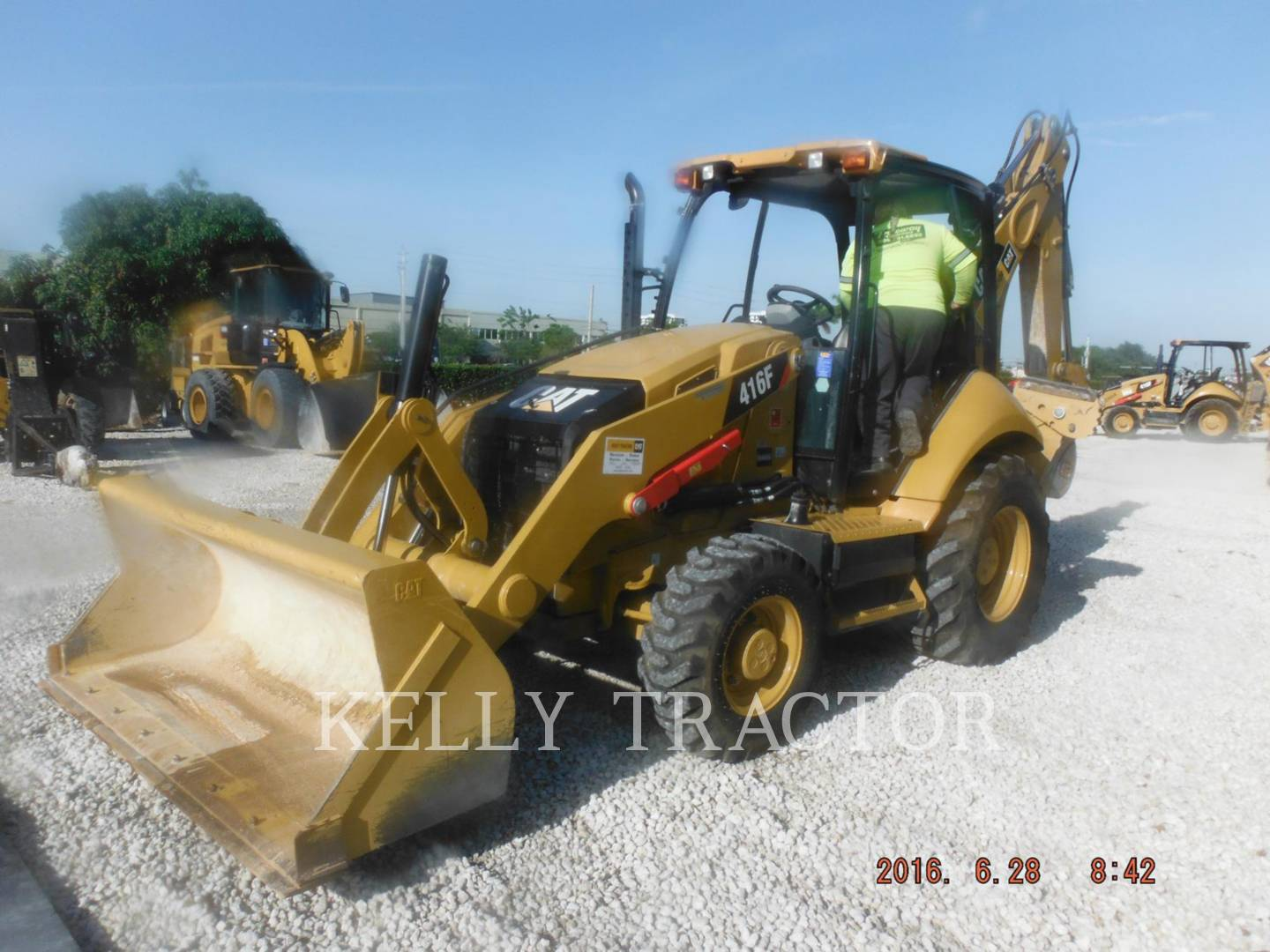 Detail photo of 2015 Caterpillar 416F from Construction Equipment Guide