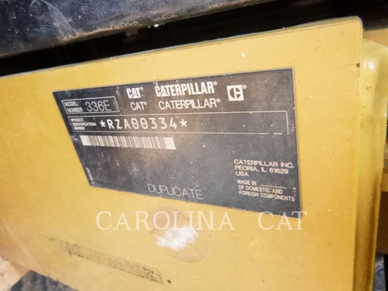 CATERPILLAR トラック油圧ショベル 336ELH equipment  photo 8