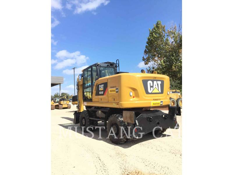 CATERPILLAR ESCAVATORI GOMMATI M316F equipment  photo 3