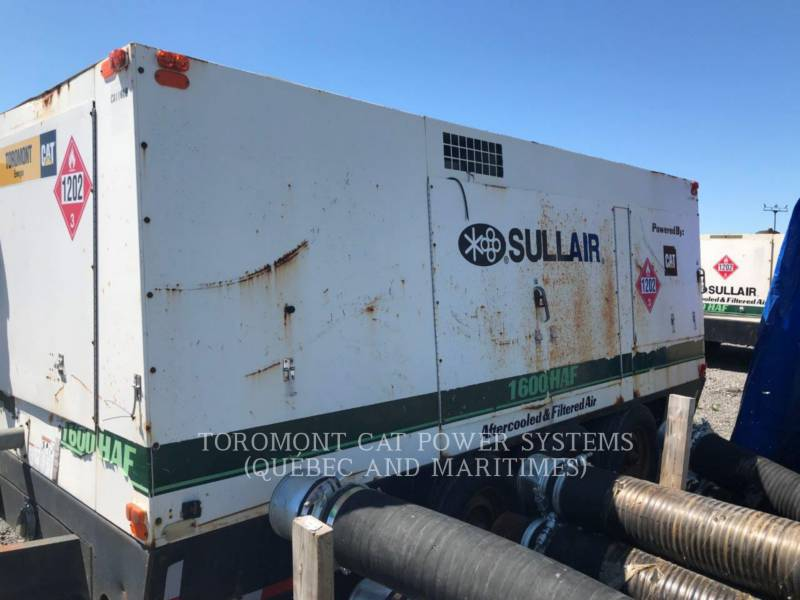 SULLAIR COMPRESSED AIR 1600HAF equipment  photo 4