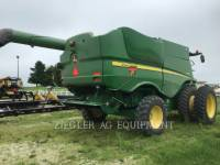 DEERE & CO. COMBINES S660 equipment  photo 4