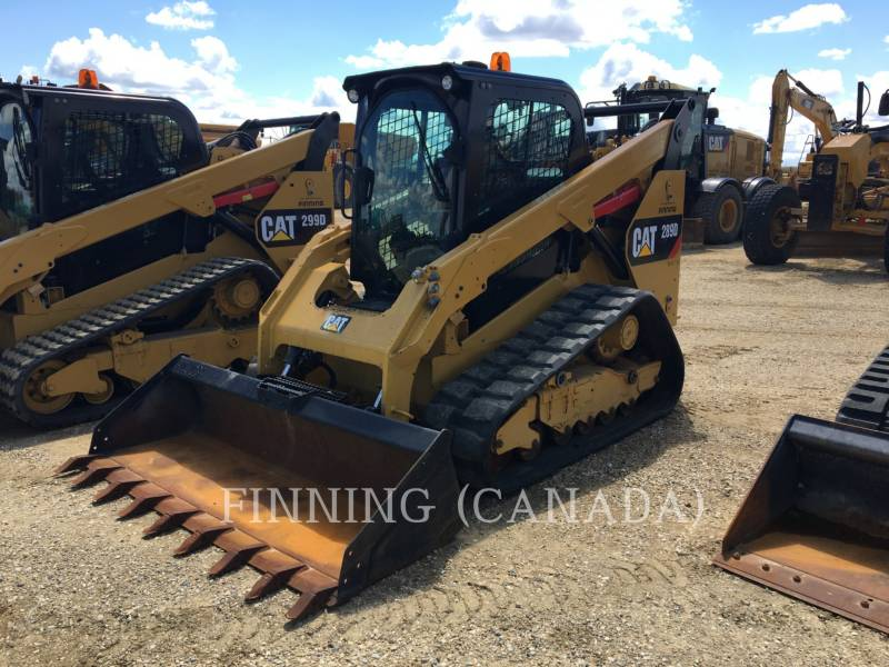 CATERPILLAR PALE CINGOLATE MULTI TERRAIN 289D equipment  photo 1