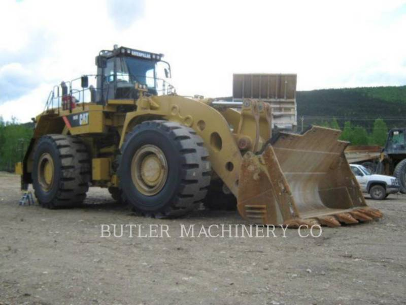 CATERPILLAR CHARGEURS SUR PNEUS MINES 993 K equipment  photo 2