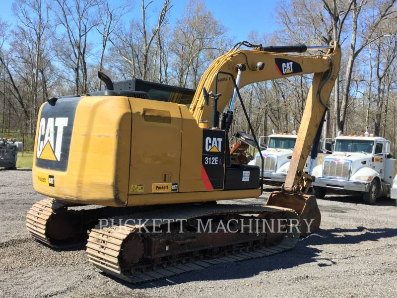 CATERPILLAR PELLE MINIERE EN BUTTE 312E equipment  photo 4