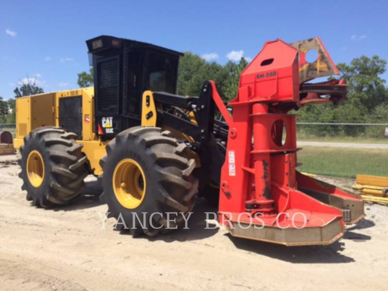 CATERPILLAR FORESTRY - FELLER BUNCHERS 553C equipment  photo 4