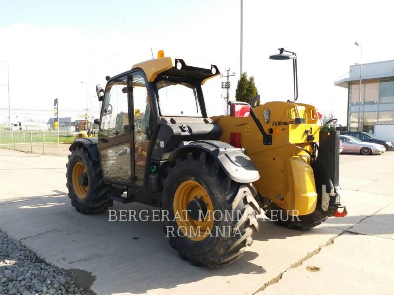 CATERPILLAR CHARGEUR À BRAS TÉLESCOPIQUE TH 407 C AGRI equipment  photo 2