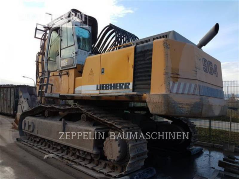 LIEBHERR KOPARKI GĄSIENICOWE R964BHD equipment  photo 7